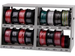 17 pc Wall Mounting Wire Storage Case