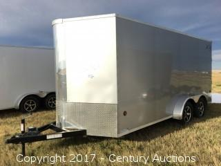 2017 New - Royal XR Cargo 18' T/A Trailer