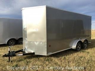 2017 - New - Royal XR Cargo 18' T/A Trailer