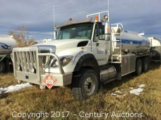 2014 International Work Star 7600 T/A Tank Truck