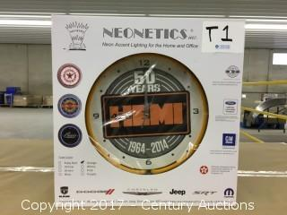Neonetics Inc Light Up Wall Clock