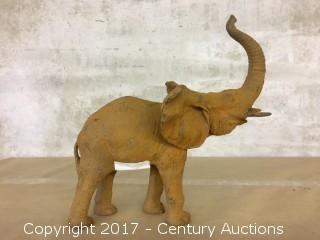 Ornamental Cast Elephant Statue