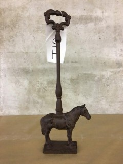 Cast Iron Horse Door Stop