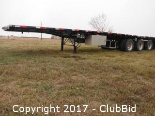 2013 Lode King Super B Deck Trailer