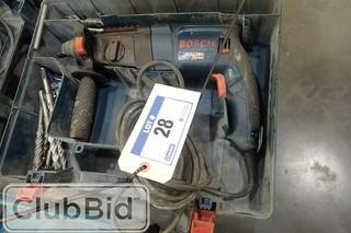 Bosch Bulldog Xtreme Hammer Drill.