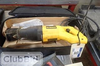 DeWalt DW304P Reciprocating Saw.