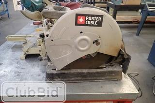 """Porter Cable 14"""" Cut-Off Saw."""