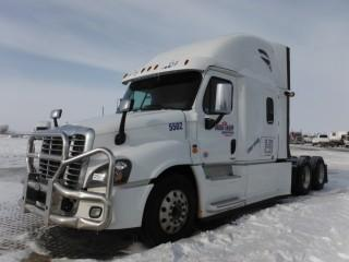 2016 Freightliner Cascadia T/A Truck Tractor