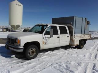 1992 GMC 3500 Deck Truck