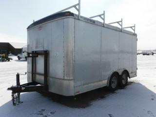 2011 Forest River 14' T/A Enclosed Trailer
