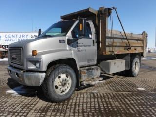2007 GMC C7500 S/A Gravel Truck