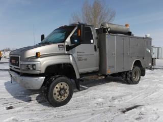2005 GMC C5500 4x4 Service Truck