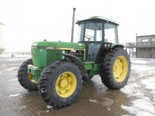 1986 John Deere 3150 Front Wheel Assist Tractor