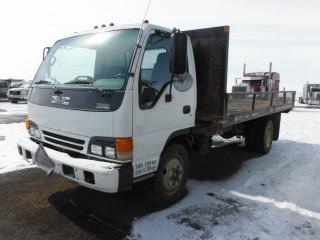2001 GMC 5500 COE S/A Deck Truck