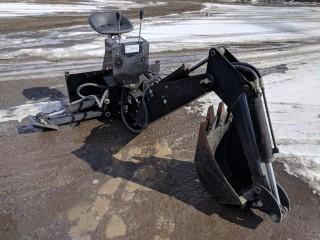 """Backhoe Attachment to Fit Skidsteer w/ 15"""" Digging Bucket"""