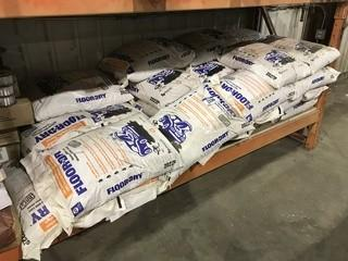 Lot of Approx. 20 Bags of 22.7L Floor Dry