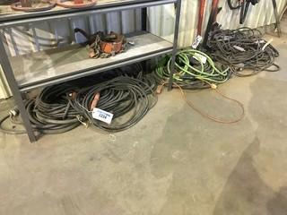 Lot of Asst. Welding Cable, Ground Cable, Electrical Cable etc.