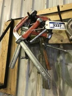 Lot of (5) Bessey Clamps