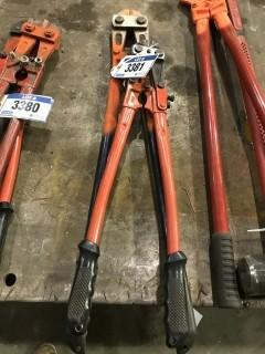 Lot of (2) Bolt Cutters
