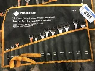 Lot of (2) Procore Combination Wrench Sets