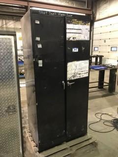 Lockable 2-Door Shop Cabinet
