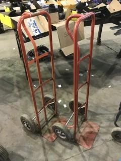 Lot of (2) 2-Wheel Dollys
