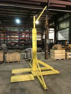 Miller Sky Overhead Rotational Boom w/ Fall Arrester, Harness, Forklift Pockets