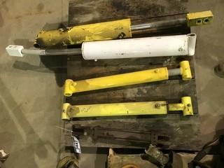 Pallet of (5) Asst. Hydraulic Rams
