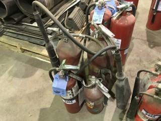 Lot of (4) ABC Fire Extinguishers