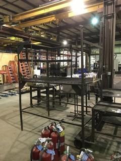 Shop Built Work Platform