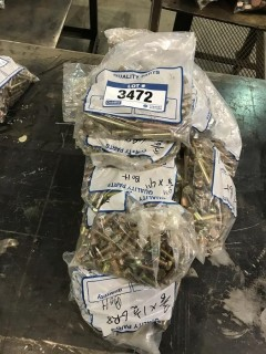 """Lot of Asst. 3/8"""" Bolts, Nuts, Washers, etc."""