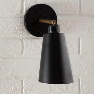 Langley Street Valmonte 1 Light Wall Sconce - Blk (LGLY2733)
