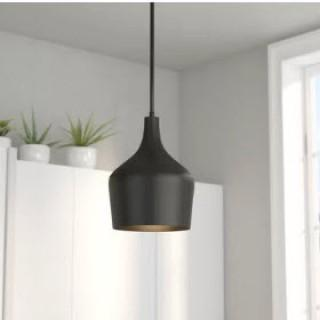 Langley Street Knoxville 1-Light Mini Pendant - Rubbed Bronze (LGLY3525_18793806)