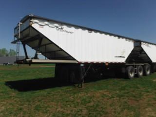 2012 Gravhaul Triaxle Hopper Bottom Super B Grain