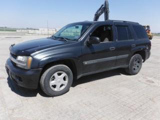 2003 Chev Trailblazer 4WD SUV