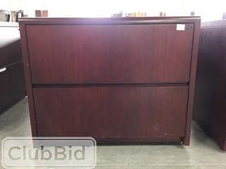 "3'x20"" 2 Drawer Lateral Filing Cabinet"