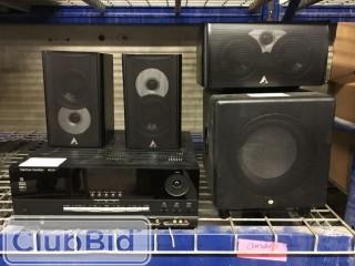Harmon/Kardon AUR325 Receiver c/w Polk Audio Surround Speakers