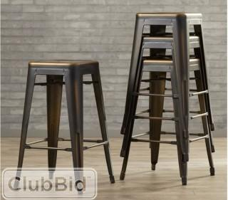 Laurel Foundry Modern Farmhouse Isabel 26 Bar Stool - Antique Copper - Set of 4 (LRFY4924_20257868)