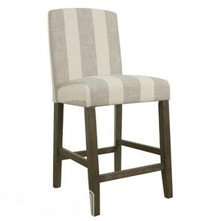 Red Barrel Studio Warrensville Stripe 24 Bar Stool (RBRS4312)