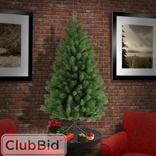 4.5' Beachcrest Home Green Spruce Artificial Christmas Tree (BCHH4219_24251002)