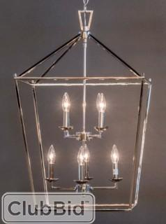 Laurel Foundry Modern Farmhouse Carmen 8 Light Foyer Pendant - Polished Chrome(LRFY3271-19400506)