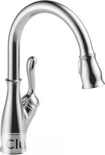 Delta Leland Single Handle Pull Down Standard Kitchen Faucet  - Chrome(DLT5458_5822677)